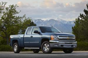 Chevrolet Silverado LT Extended Cab Pickup 2012 года
