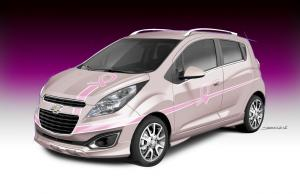 Chevrolet Spark Cancer Awareness Pink Out Concept 2012 года