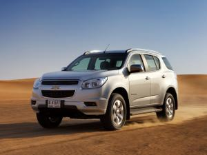 Chevrolet TrailBlazer 2012 года