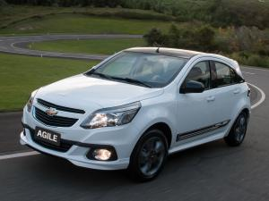 Chevrolet Agile Effect 2013 года