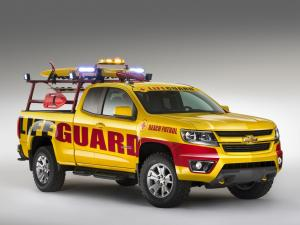 Chevrolet Colorado Beach Patrol Show Truck 2013 года