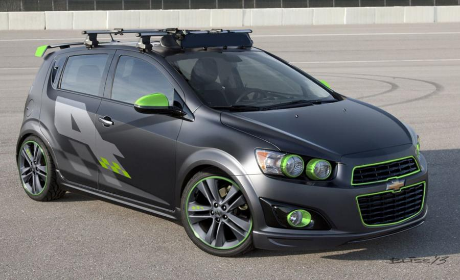 Chevrolet Ricky Carmichael All-Activity Chevrolet Sonic Concept