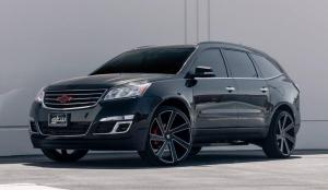 Chevrolet Acadia on DUB Wheels 2014 года
