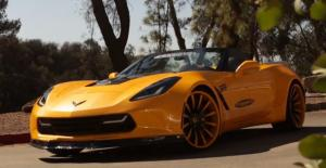 2014 Chevrolet Corvette Convertible by Forgiato and BH Factory