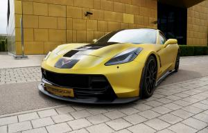 2014 Chevrolet Corvette Stingray Yellow by GeigerCars