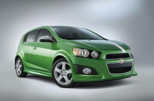 Chevrolet Sonic Performance Concept 2014 года