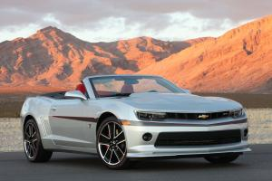 Chevrolet Camaro LT RS Convertible Commemorative Edition 2015 года