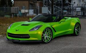 Chevrolet Corvette Stingray on Forgiato Wheels 2015 года