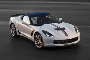 2015 Chevrolet Corvette Z06 Twilight Blue Design Convertible