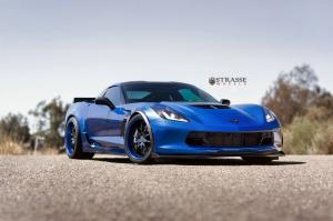 2015 Chevrolet Corvette Z06 on Strasse Wheels