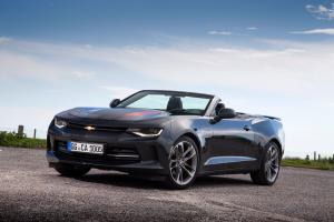Chevrolet Camaro Convertible 50th Anniversary 2016 года (EU)