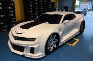 Chevrolet Camaro ZL1 on Forgiato Wheels (Finestro-ECL) 2016 года