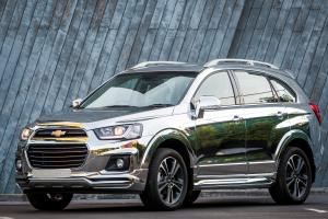 Chevrolet Captiva Chrome Edition Concept