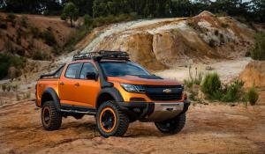 Chevrolet Colorado Xtreme Concept 2016 года