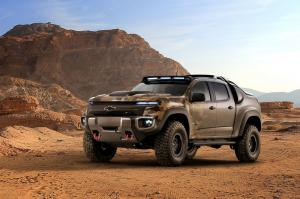 2016 Chevrolet Colorado ZH2 Fuel Cell Vehicle
