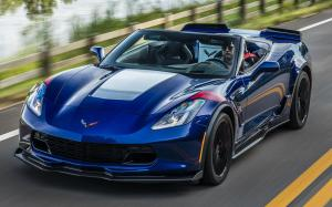 Chevrolet Corvette Grand Sport Convertible 2016 года