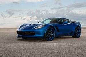 2016 Chevrolet Corvette Z06 Blue Flame on Forgiato Wheels (F2.09)