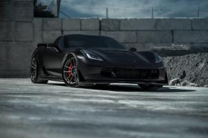 Chevrolet Corvette Z06 by ACG Automotive on Brixton Forged Wheels (M53 Ultrasport+) 2016 года