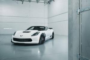 Chevrolet Corvette Z06 by Davenport Motorsports on ADV.1 Wheels (DVP02 MV2 CS) 2016 года