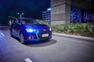 Chevrolet Sonic Hatchback 2016 года