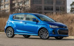 Chevrolet Sonic RS Hatchback 2016 года (NA)