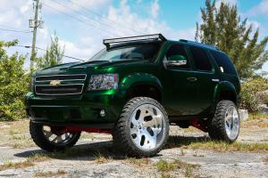 2016 Chevrolet Tahoe on Forgiato Wheels (Indierto-T)