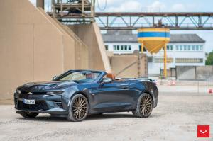 2017 Chevrolet Camaro Convertible on Vossen Wheels (VFS2)