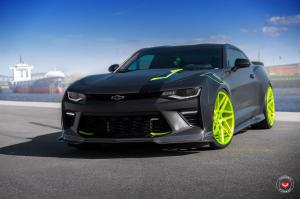Chevrolet Camaro SS by Customkingz Performance on Vossen Wheels (VPS-315T) 2017 года