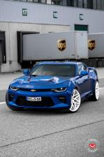 Chevrolet Camaro SS on Vossen Wheels (VPS-315T) 2017 года