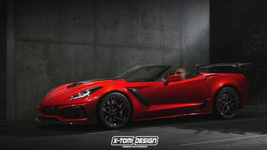 Chevrolet Corvette ZR1 Convertible by X-Tomi Design