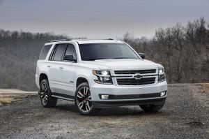 Chevrolet Tahoe RST 2017 года