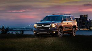 Chevrolet Tahoe Z71 Midnight 2017 года