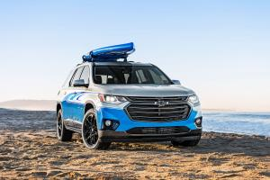 2017 Chevrolet Traverse SUP Concept