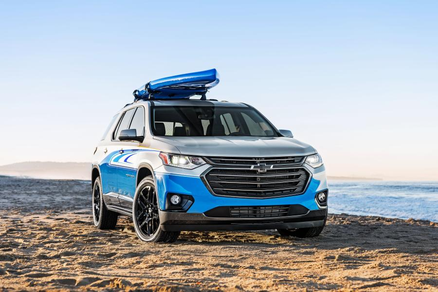Chevrolet Traverse SUP Concept '2017