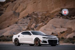 2018 Chevrolet Camaro ZL1 1LE on HRE Wheels (RC104)