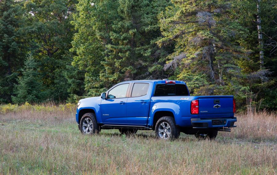 Chevrolet Colorado Z71 Trail Runner Crew Cab '2018
