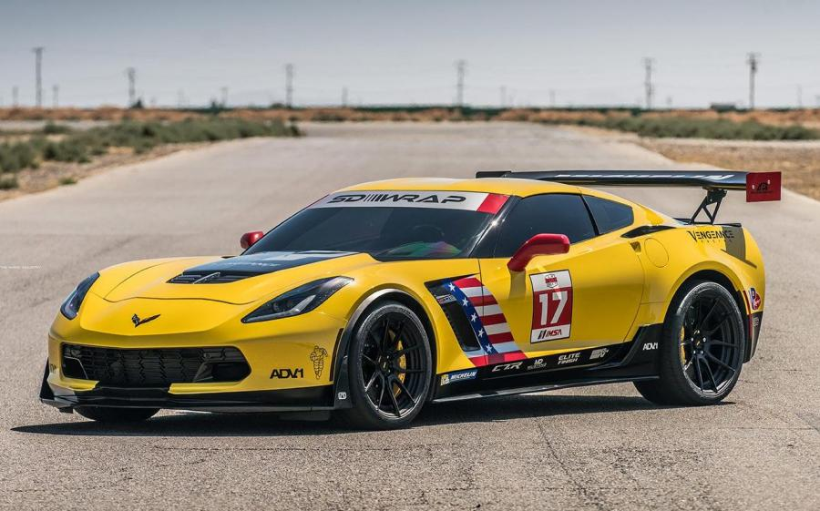 Chevrolet Corvette Z06 C7.R by Vengeance Racing & Speed Society on ADV.1 Wheels (ADV5.0 M.V2 CS)