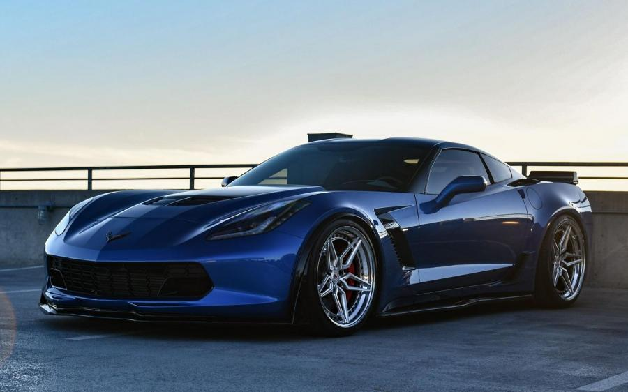 Chevrolet Corvette Z06 on Vossen Wheels (M-X1 (3 Piece))