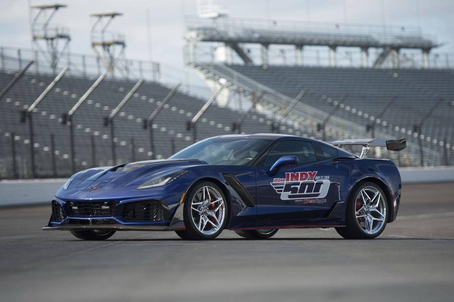 Chevrolet Corvette ZR1 Indy 500 Pace Car