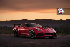 2018 Chevrolet Corvette ZR1 on HRE Wheels (R101)