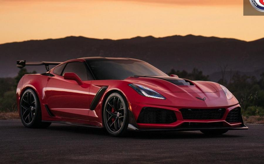 Chevrolet Corvette ZR1 on HRE Wheels (R101)