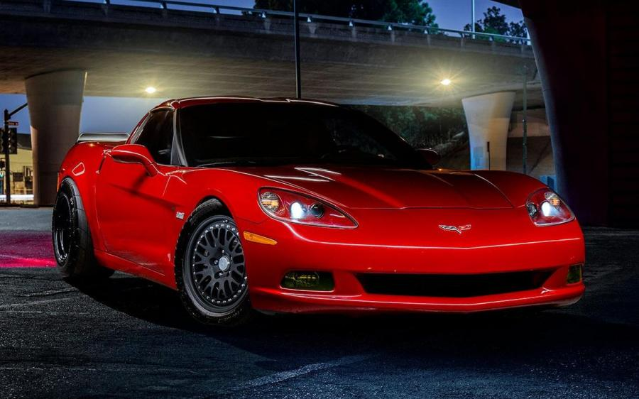 Chevrolet Corvette on CCW Classic Wheels (C6)