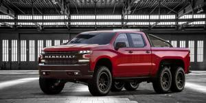 2018 Chevrolet Silverado Trail Boss Goliath 6x6 by Hennessey