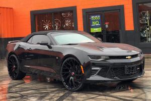 Chevrolet Camaro Convertible on Forgiato Wheels (Sincro-ECL) 2019 года