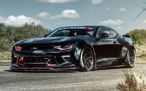 Chevrolet Camaro SS on Ferrada Wheels (F8FR8)