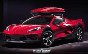 Chevrolet Corvette 4x4 by X-Tomi Design 2019 года