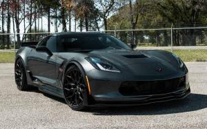Chevrolet Corvette Grand Sport on Vossen Wheels (HF-2)