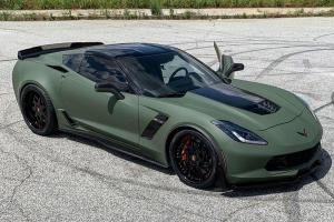 2019 Chevrolet Corvette Z06 on Forgiato Wheels (Finestro)