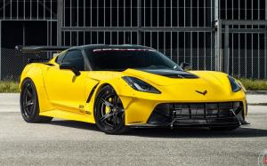 Chevrolet Corvette Z51 by Corvette Racing on Vossen Wheels (S17-03 (3-Piece))