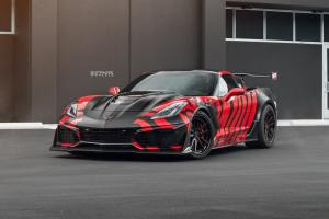 2019 Chevrolet Corvette ZR1 by NUR Performance on Strasse Wheels (SV1 Deep Concave FS)